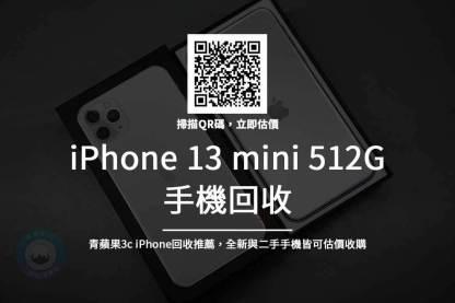 iPhone 13 mini 512G 回收