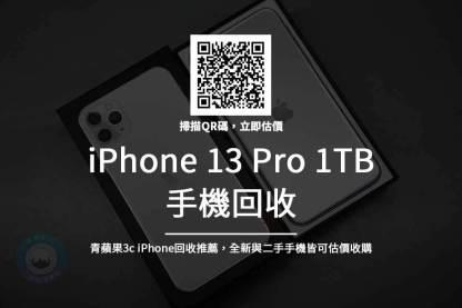 iPhone 13 pro 1TB 回收