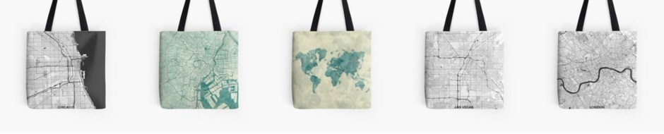Tote Bag Map