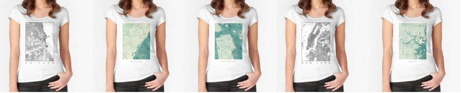 T-Shirt Map