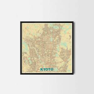Kyoto City Prints