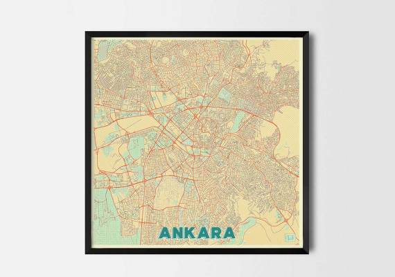 City Art Posters | Map Posters and Art Prints - cool map generator