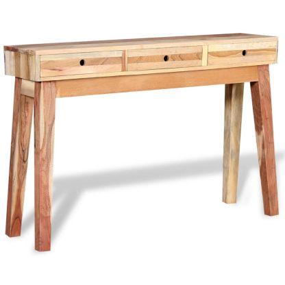 Konsolinis staliukas, tvirta perdirbta mediena