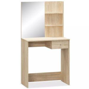 Kosmet. staliukas, medienos drožl. plokštė, 75x40x141cm, až.