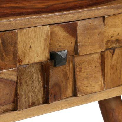 Kavos staliuk., rausv. dalb. med. su med. sp. apd., 110x50x37cm