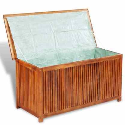 Sodo daiktadėžė, 117x50x58cm, akacijos medienos masyvas