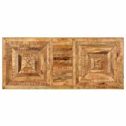 Rašomasis stalas, 118x50x75cm, mango medienos masyvas