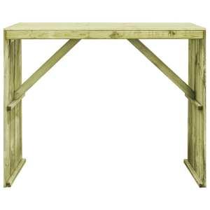 Baro stalas, 130x60x110cm, FSC impregnuota pušies mediena