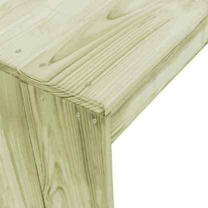 Baro stalas, 170x60x110cm, FSC impregnuota pušies mediena