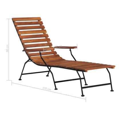 Lauko terasos kėdė, akacijos medienos masyvas