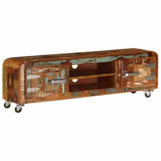 vidaXL TV spintelė, 120x30x36cm, perdirbtos medienos masyvas