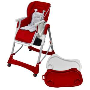 Mažylio maitinimo kėdutė, raudono vyno sp., regul. aukščio
