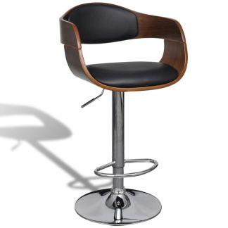vidaXL Baro kėdė, dirbtinė oda, reguliuojamas aukštis