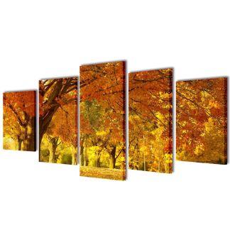 """Fotopaveikslas """"Klevas"""" ant Drobės 200 x 100 cm"""