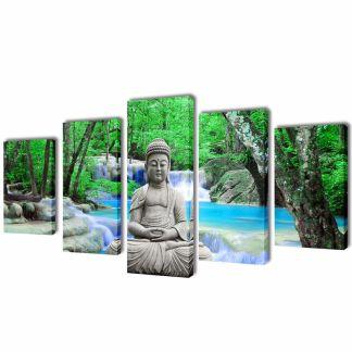 """Fotopaveikslas """"Buda"""" ant Drobės 100 x 50 cm"""