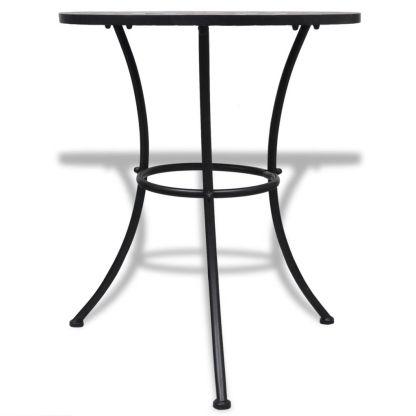 Bistro baldų kompl., 3d., terakot. ir balt. sp., keram. plyt.