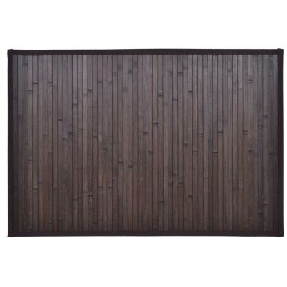 2 Bambukiniai Vonios Kilimėliai, 40 x 50 cm, Tamsiai Rudi