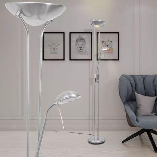 vidaXL Reguliuojamo Šviesos Srauto LED Toršeras, 23 W