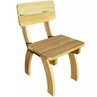 vidaXL Sodo kėdė, FSC impregnuota pušies mediena