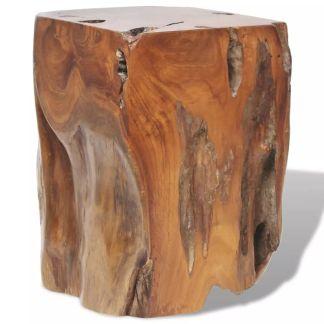 vidaXL Kėdutė, masyvi tikmedžio mediena, 30x30x40 cm