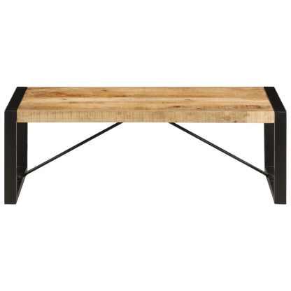 Kavos staliukas, 120x60x40 cm, mango medienos masyvas