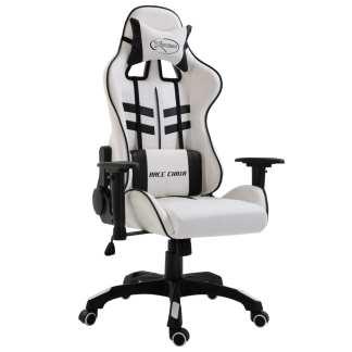 vidaXL Žaidimų kėdė, juoda, poliuretano putos