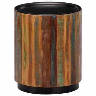 vidaXL Kavos staliukas, 38×45 cm, perdirbtos medienos masyvas