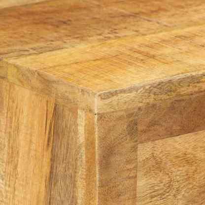 Batų spintelė, 86x35x55 cm, mango medienos masyvas