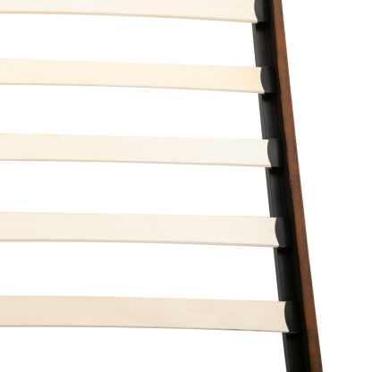 Lova su čiužiniu Memory, 120×200 cm, dirbtinė versta oda