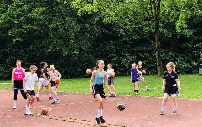 Citybasket: Trainings unter Auflagen wieder gestartet