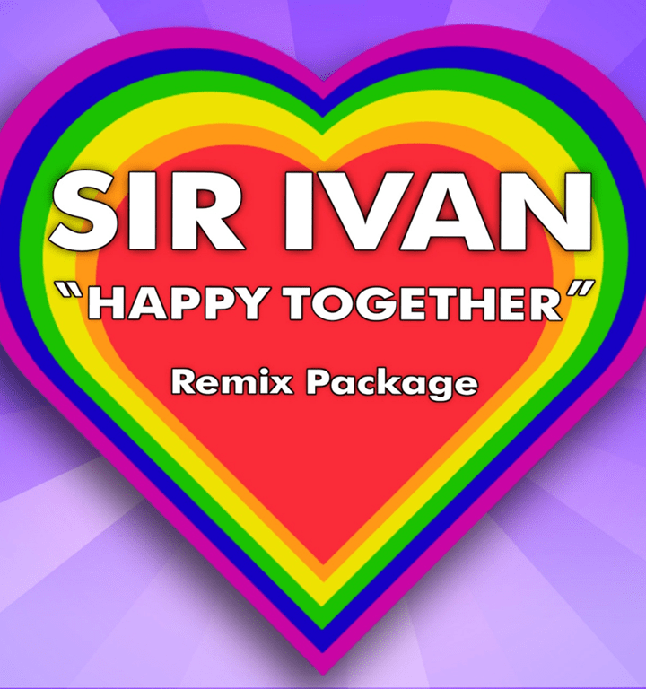The fantastic 'Sir Ivan' loves to make people happy with his amazing remixes as he drops the 'Happy Together' remix package of the Turtles classic.