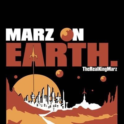 'Marz' drops supernova beats onto earth with a spacey first class spit on 'Marz on Earth'
