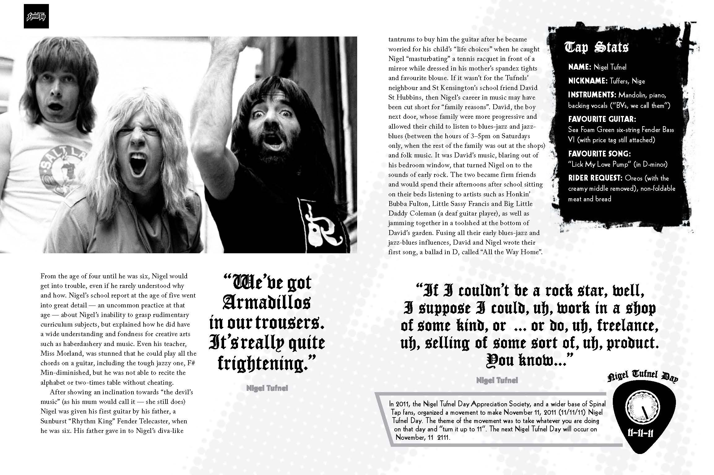Spinal Tap The Big Black Book