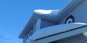 calgary roof with snow