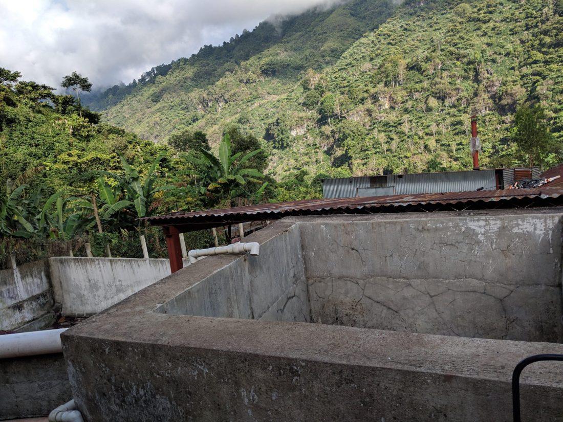 Villatoro washing station