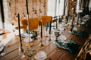 head table setup