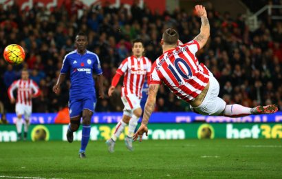 Stoke 1-0 Chelsea: Marko Arnautovic condemns Blues to seventh defeat as Jose Mourinho banned