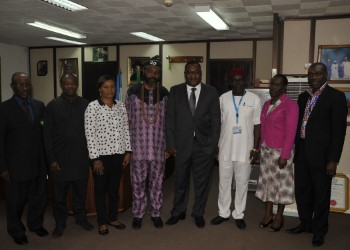 Bello canvasses collaboration among maritime agencies