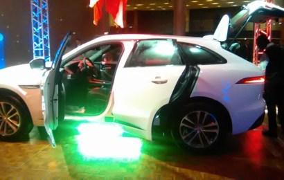 Jaguar's  first  SUV settles in Nigeria