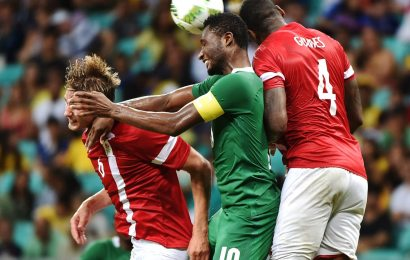 Nigeria defeat Denmark, to face Germany in semi-final