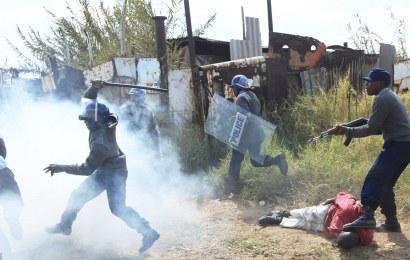 Protest Rocks Zimbabwe