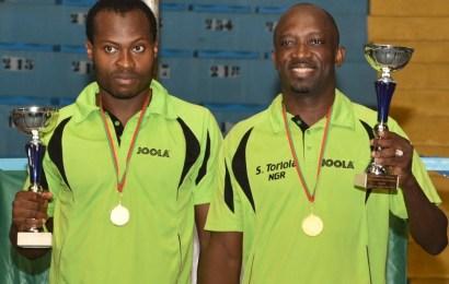 Nigeria retains men's doubles title