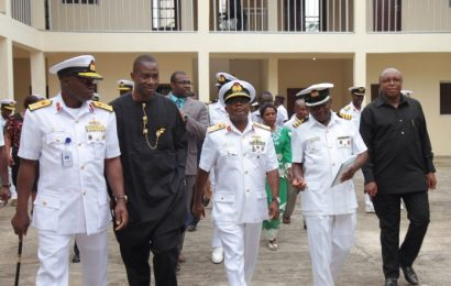 NLNG, Navy commission School hostel in Calabar