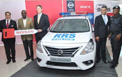 Stallion Nissan Donates car to Lagos State Security Trust Fund