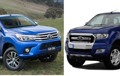 Anxiety as Hilux, Ranger battle for pickup of the year award