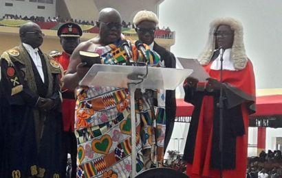 Akufo-Addo takes oath as President of Ghana