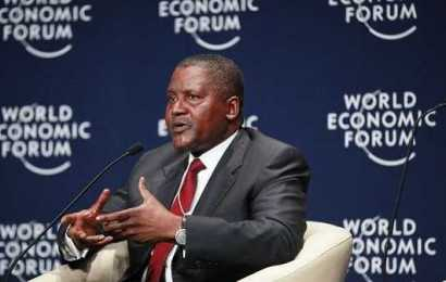 Dangote at WEF, canvasses genuine efforts at tackling power deficit in Africa