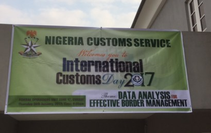 Customs FOU zone 'C' task officers on professionalism