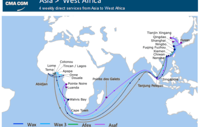 CMA CGM to reorganise Asia, West Africa offering