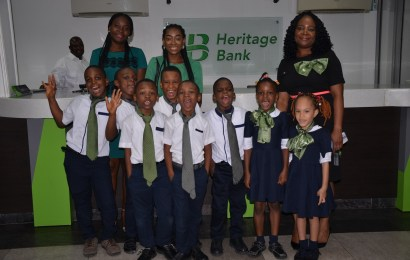 Heritage Bank explains financial literacy training for children